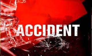 ट्रक व बाइक की आमने-सामने की टक्कर में युवक की मौत | #NayaSabera