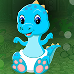 Games4King Blue Baby Dino…