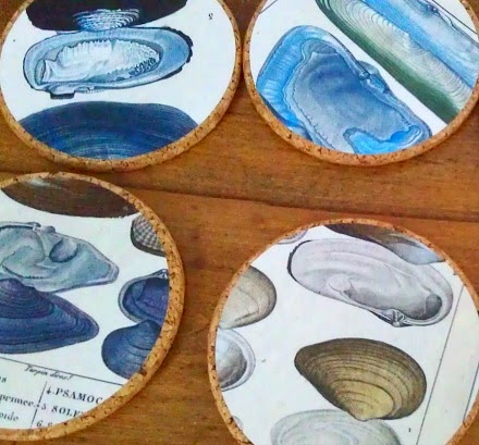 DIY Decoupage Coasters
