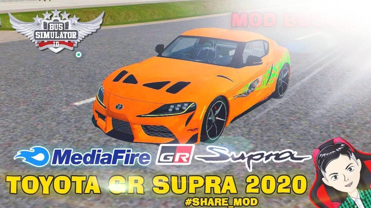 Mod Bussid 2020 Toyota Supra GR