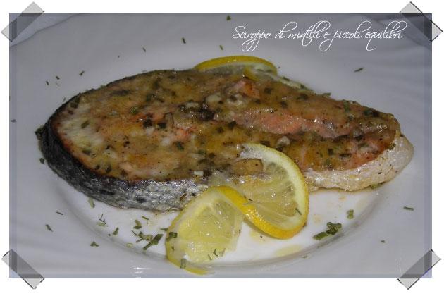 Salmone al limone ed erba cipollina