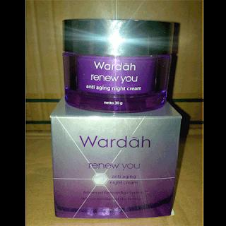 Rekomendasi 4 Krim Malam dari Wardah Cosmetics ( Harga dan Variasi Ukurannya)