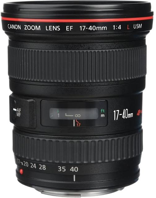 Canon EF 17-40mm F/4.0L USM Zoom Lens for Canon DSLR Camera