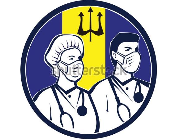 illustration logo barbados medical