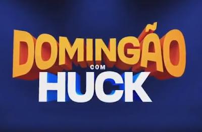 Logotipo do Domingão com Huck