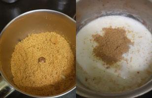 Kasakasa paal recipe