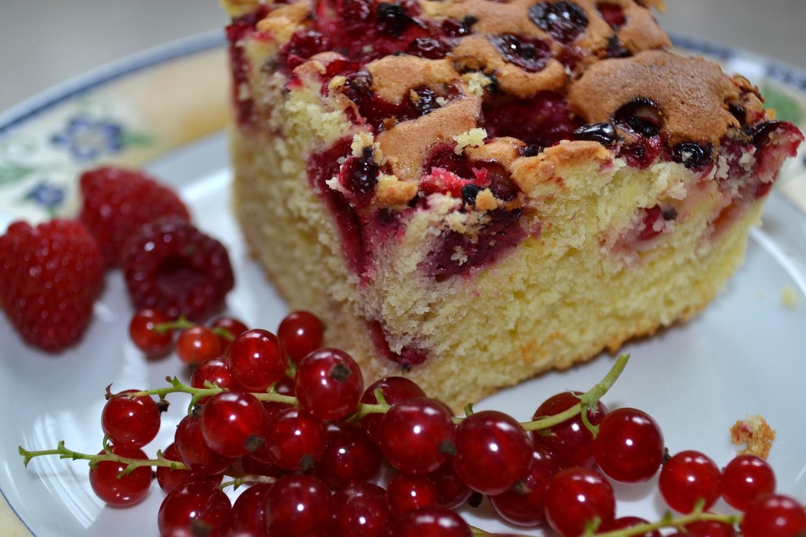 Coś pysznego czyli... ciasto z owocami, które zawsze się udaje :)