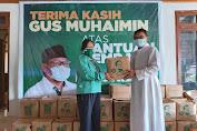 DPP PKB Salurkan Bantuan Pandemi Covid-19, Imam Katolik: Terima Kasih Gus Muhaimin