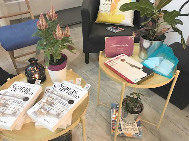1.º encontro Livros à Sexta de 2019 espaço clube de leitura souk armazem de ideias ilimitada