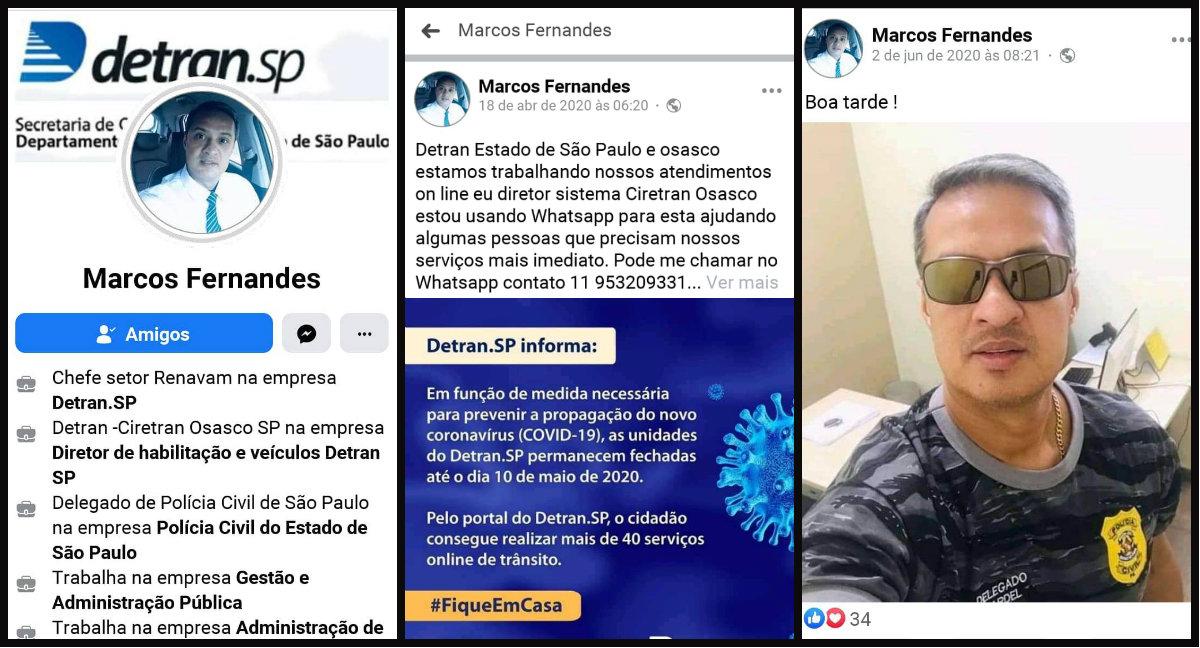 Criminoso usa fotos do Facebook de delegado de Santarém para aplicar golpes