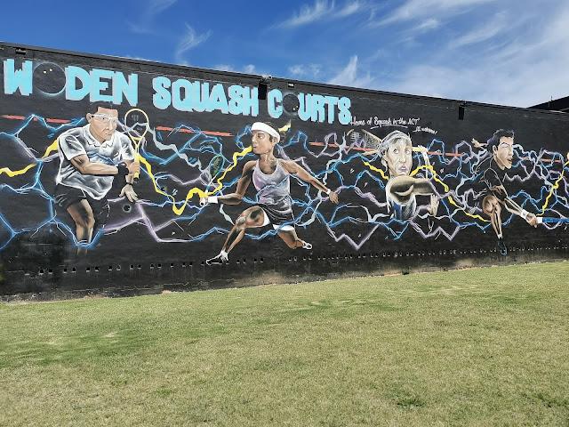 Phillip Street Art | Woden Squash Courts