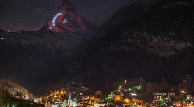 Matterhorn Dağı'na Türk bayrağı diken ülke hangisidir?