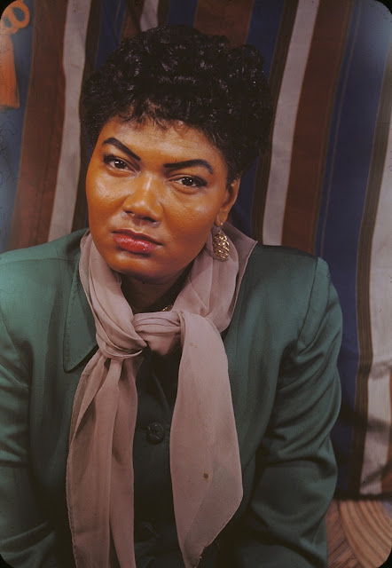 1950. Pearl Bailey photographed by Carl Van Vechten on March 12, 1950