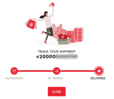 My Shopping Box Tracking