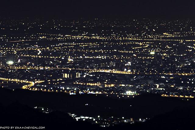 MG 3333 - 台中夜景秘境,一次飽覽中彰投三縣市美麗夜景,最遠連雲林麥寮都能看得到哦!