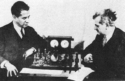 Partida de ajedrez Capablanca-Lasker, Nueva  York, 1923