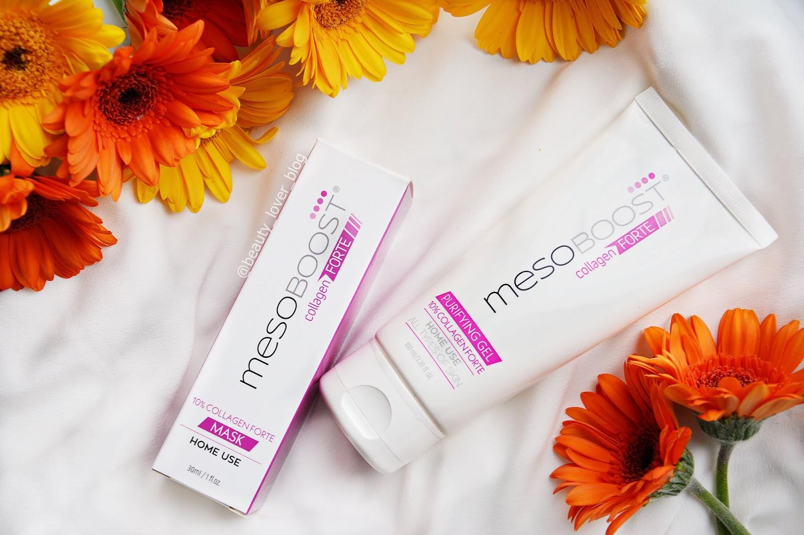 Mesoboost Collagen Forte- Purifyng gel & Mask