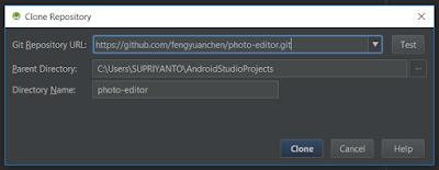 Cara Membuka Project dari Github atau Clone Project di Android