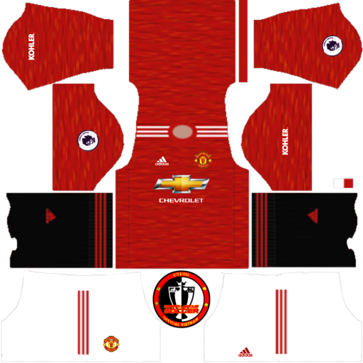 Kits Manchester United 2021 - Dream League Soccer 2019 & FTS