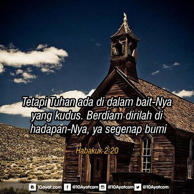 Habakuk 2:20