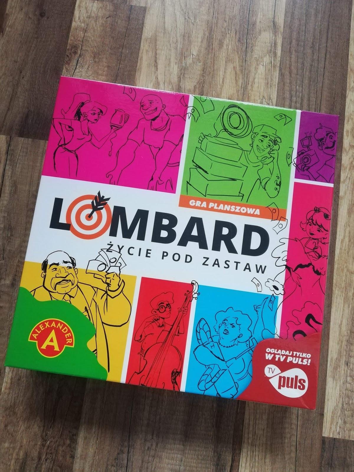 Lombard życie pod zastaw - gra planszowa Alexander