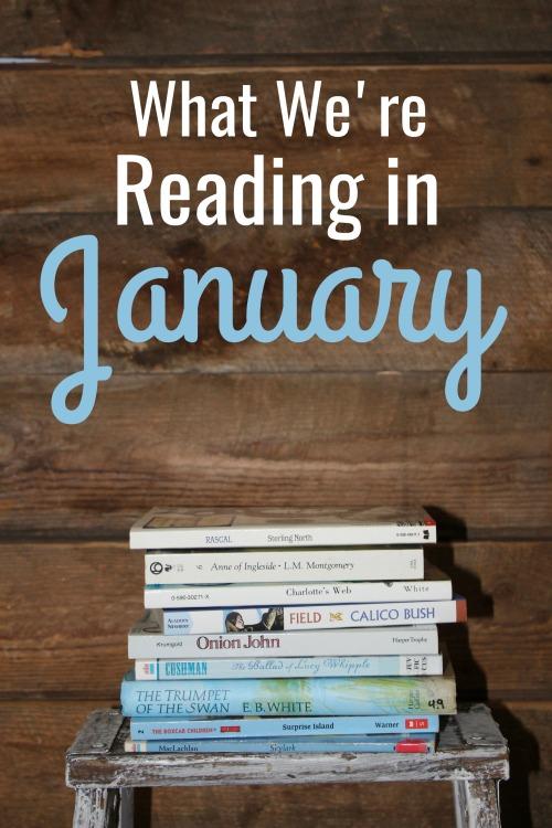 What We're Reading in January 2021 #readaloudrevival #readaloud