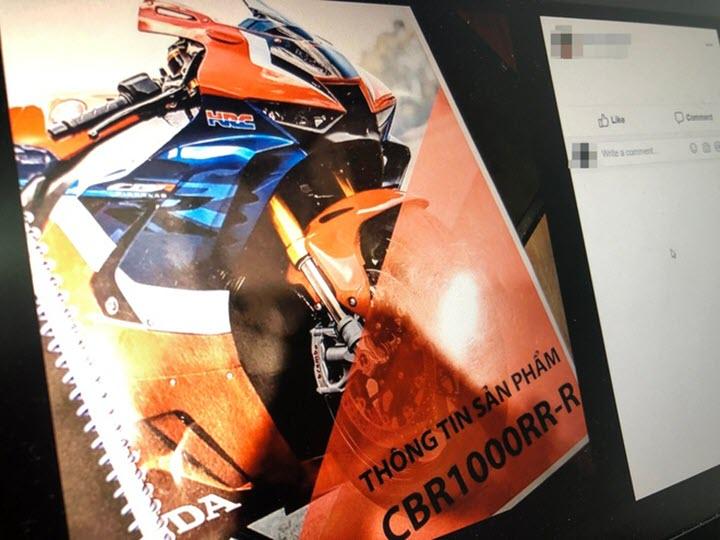 Siêu môtô Honda CBR1000RR-R dính lỗi động cơ