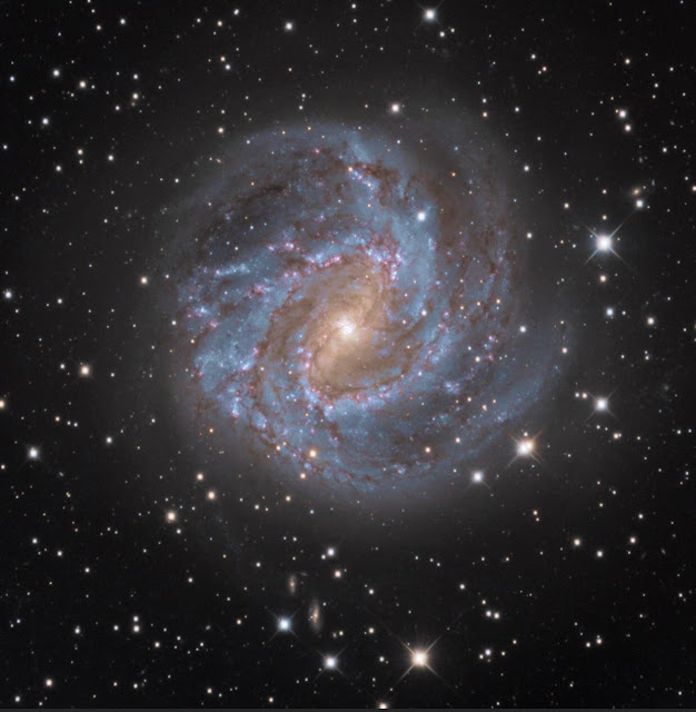 Messier 83 - the Southern Pinwheel Galaxy imaged on ATEO-3 and processed by Franck Jobard from Deep Sky Chile now available for download from Starbase