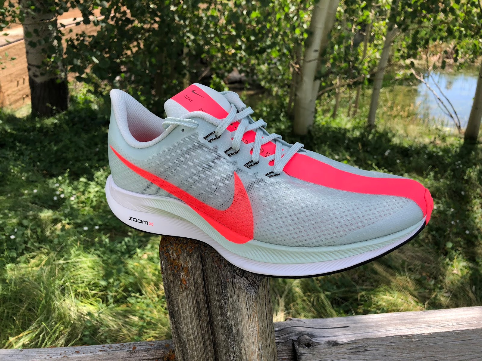 new arrivals 54efb a96ab On July 11th Nike released the Zoom Pegasus Turbo, an approximately 8 oz   227 g (men s 9), 6.9 oz  196 g (women s 8) run trainer. Nike s official  weight at ...