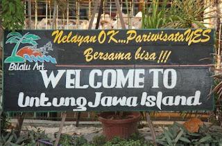 Wisata Pantai Pulau Untung Jawa Murah Meriah