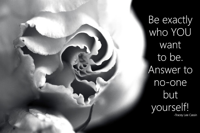 Be exactly who you are and answer to no one Quote