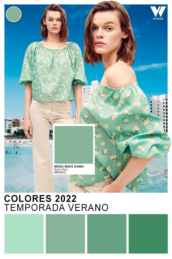 moda colores primavera verano 2022 colores