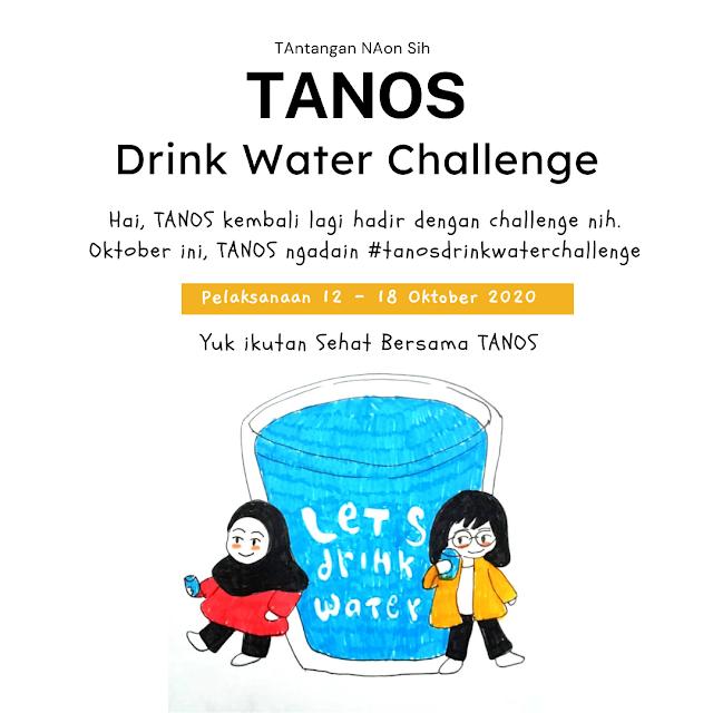 pelaksanaan tanos drink water challenge