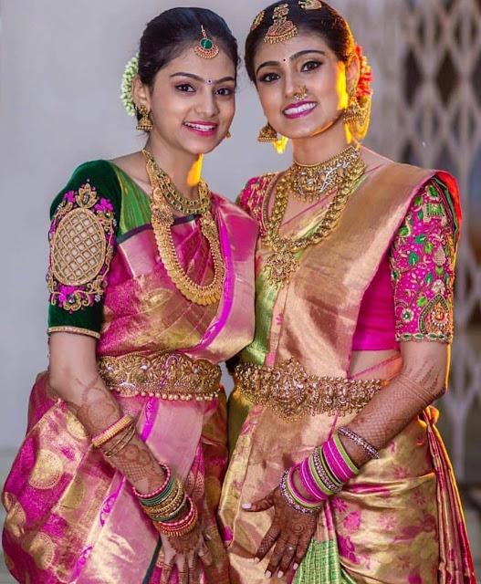 Heavy Nakshi Vaddanam Designs