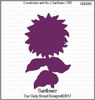 ODBD Custom Sunflower Die