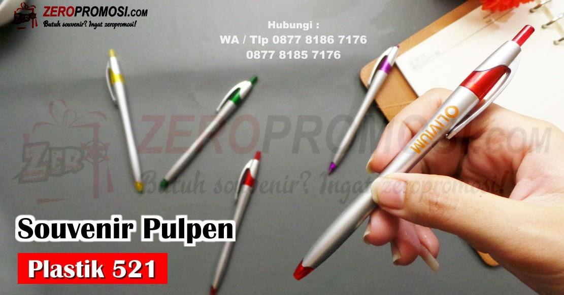 Barang promosi Pulpen 521 bisa cetak logo