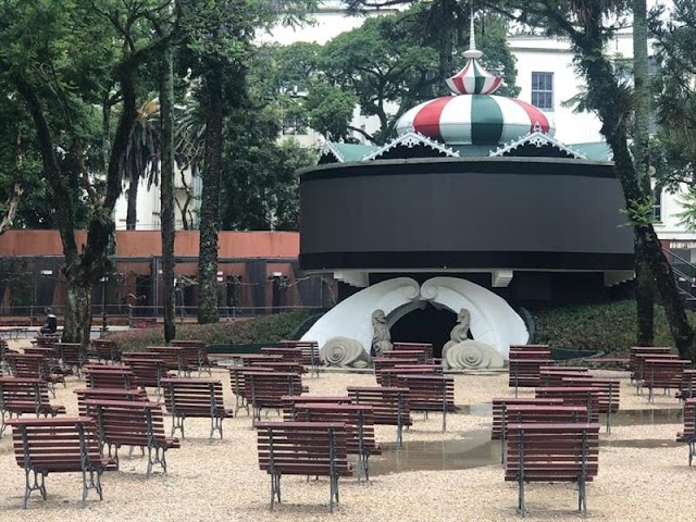 NATAL CONDOR NO PASSEIO PÚBLICO ESTREIA DOMINGO