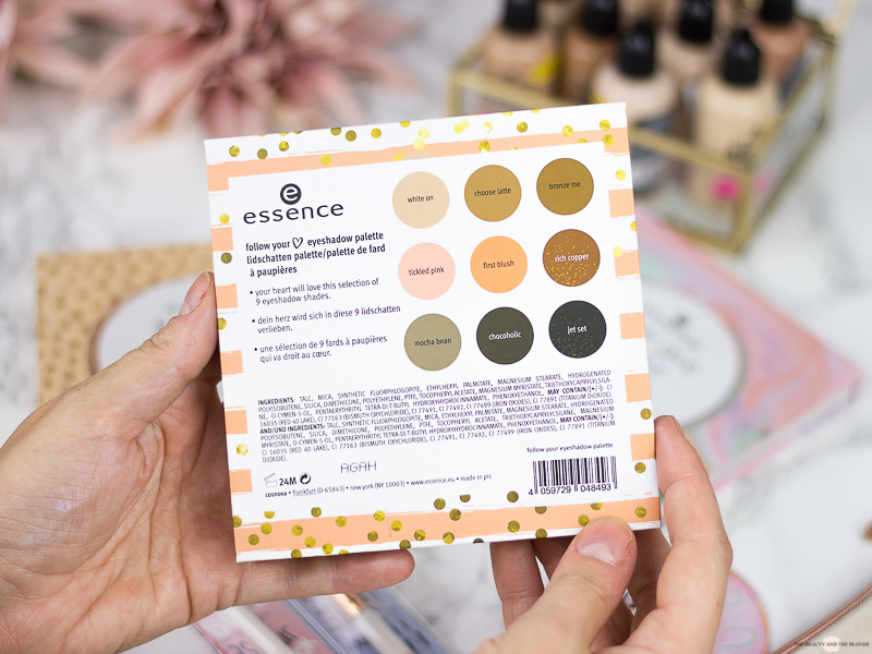 essence Update Herbst/Winter 2018 eyeshadow palettes never give up your daydream follow your heart be you tiful