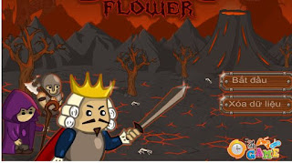Chơi game bông hoa của quỷ hay