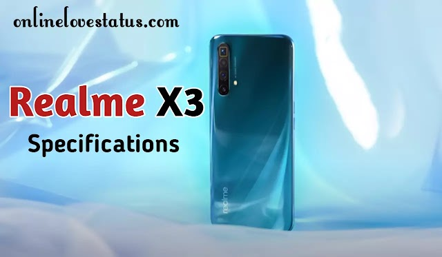Realme x3 Features, Price in Bangladesh & Full Phone Specifications