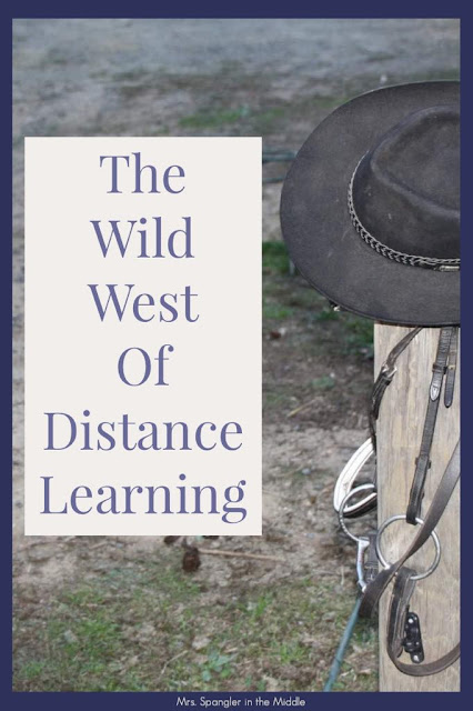 These are my top 3 Middle School Distance Learning Tips after my first week in the Wild West!