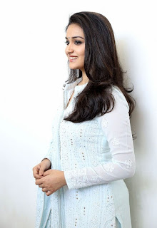 Keerthy Suresh in White Dress with Cute and Awesome Lovely Smile for Going to Promotions 6