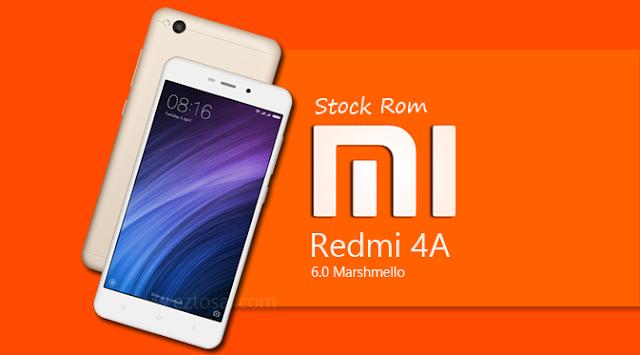 Download Stock Rom Xiaomi Redmi 4A v8.1.2.0 Marshmello Terbaru