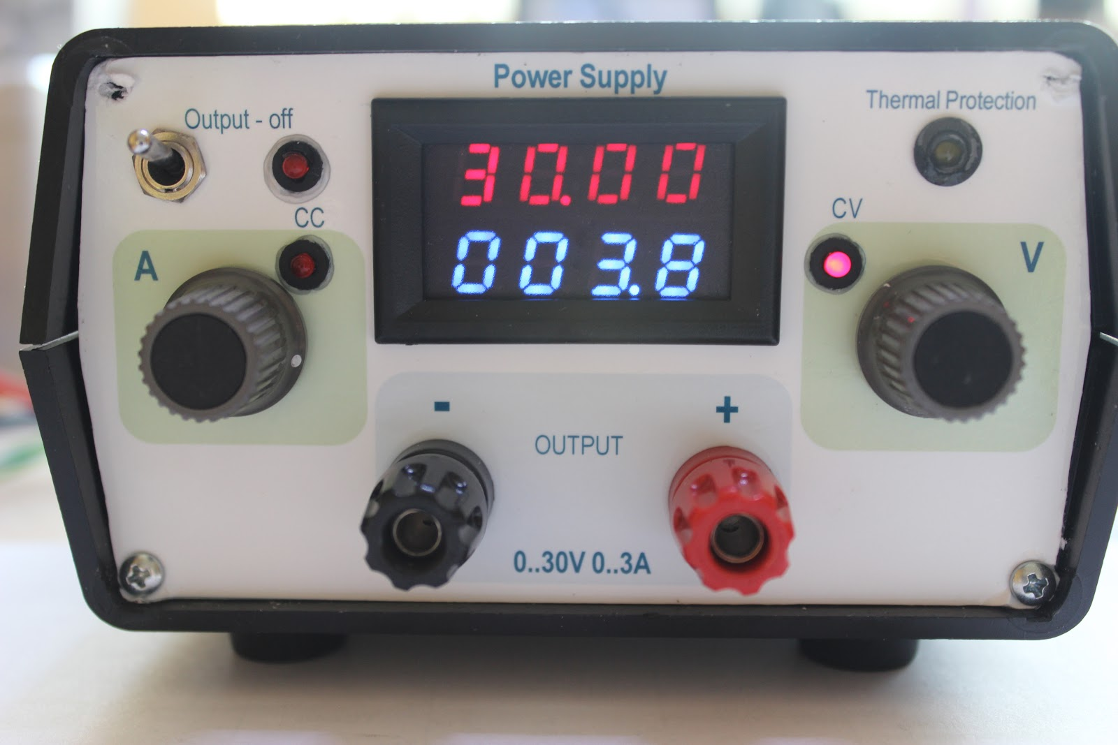 Pauls Diy Electronics Blog My New Power Supply Design Project Part 4 Electronic Components Regulated Dc And Here Is The Frontpanel I Make A In Powerpoint Print It With Photoprinter On Hp Premium Plus Photo Paper Glossy Type