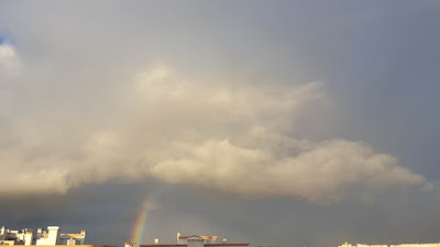 (Almost) Wordless Wednesday - at the end of the rainbow?