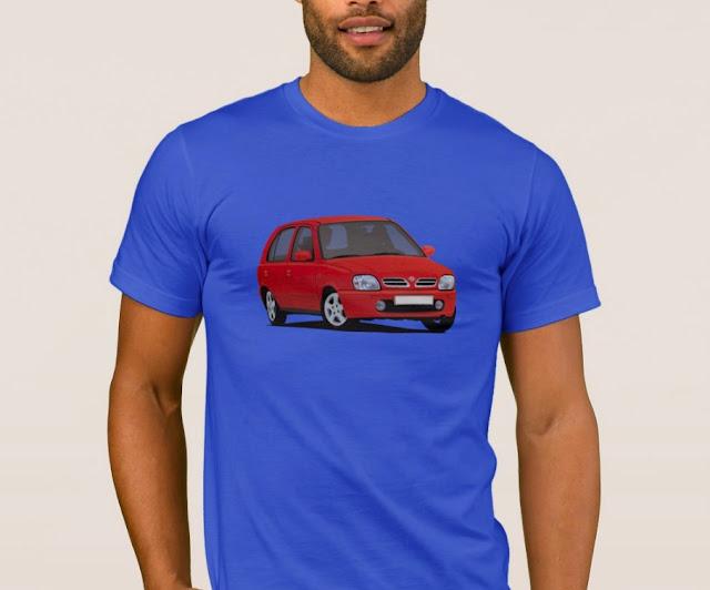 Nissan Micra autopaita