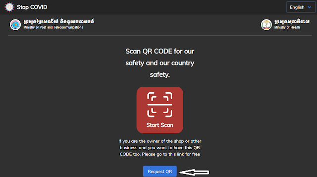 StopCOVID.gov.kh : Go scan now for safety