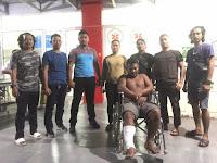 Curi Tas Jamaah Saat Sujud Waktu Shalat Magrib di Masjid, Kaki Bagong di Dor Polisi