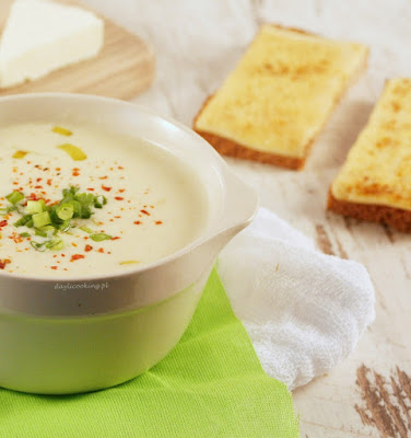 przepis na zupę serową, jak zrobić zupę serową