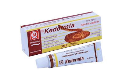 Thuốc bôi da trị hắc lào Kedermfa